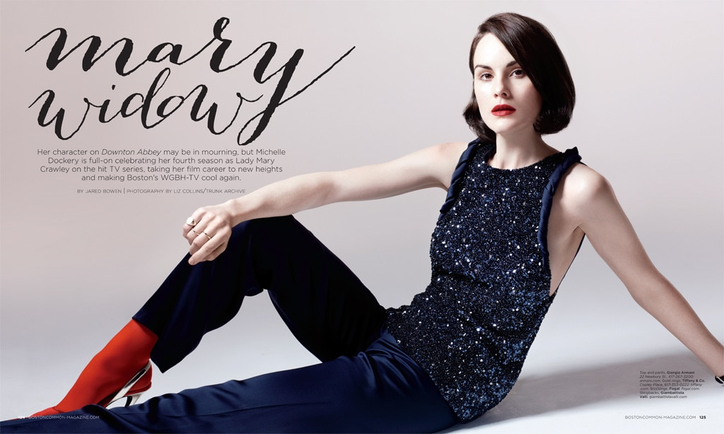 Michelle Dockery, Boston Common Magazine