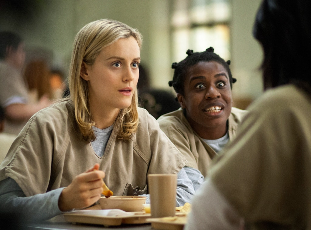 Taylor Schilling, Uzo Aduba, Orange is the New Black