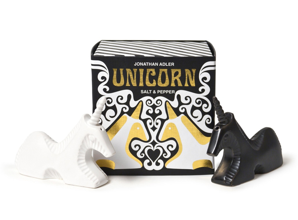 LeAnn Rimes Holiday Gift Guide, Unicorn Salt and Pepper
