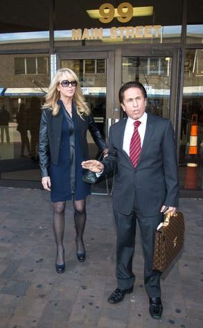 Dina Lohan, Mark Heller, Court, Long Island