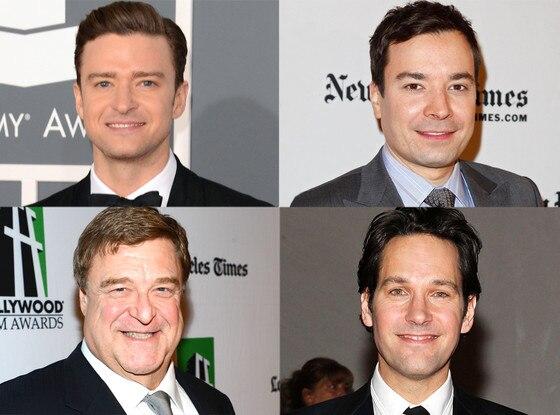 Justin Timberlake, Jimmy Fallon, John Goodman, Paul Rudd, SNL