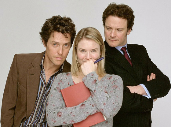 Renee Zellweger, Hugh Grant, Colin Firth, Bridget Jones' Diary