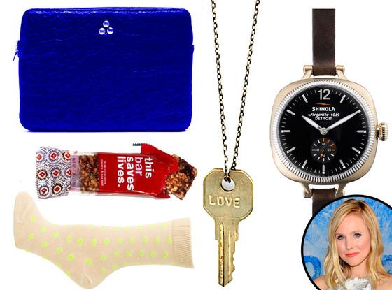 Kristen Bell Holiday Gift Guide