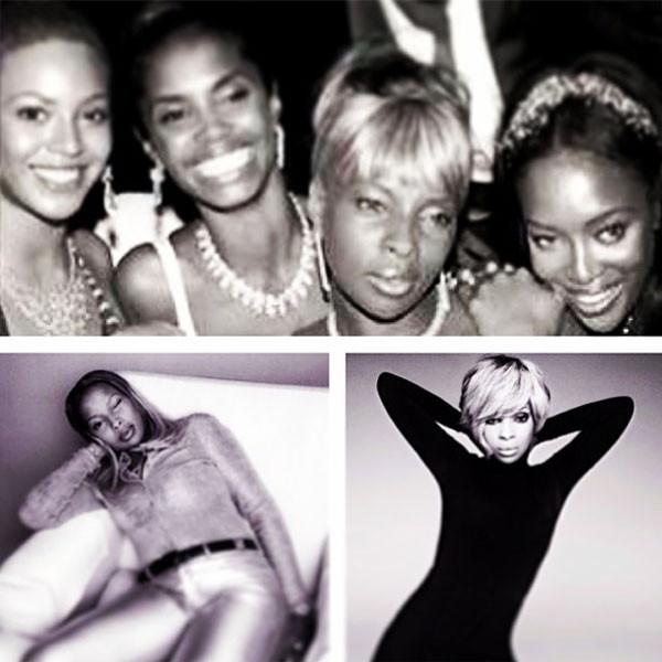 Mary J. Blige, Instagram, Throwback Thursday