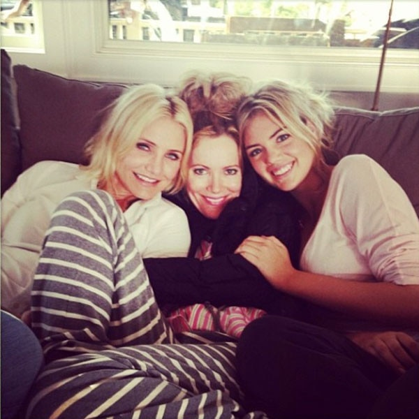 Cameron Diaz, Leslie Mann, Kate Upton, Instagram, Throwback Thursday