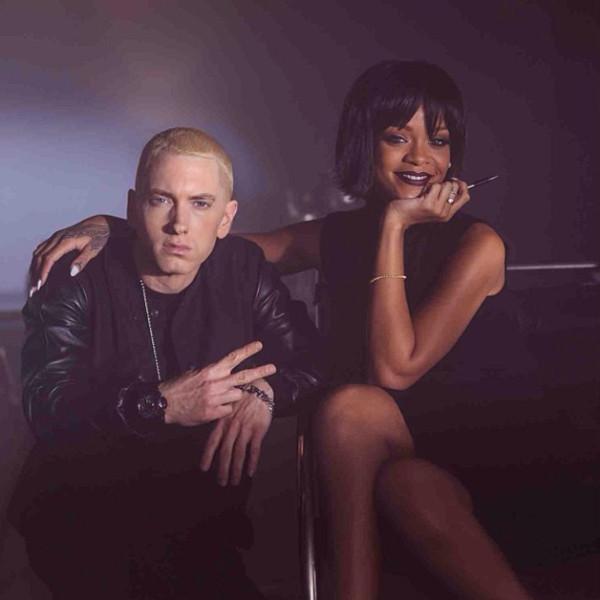 Rihanna, Eminem, Instagram