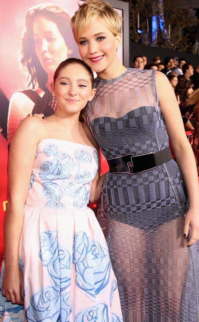 Willow Shields, Jennifer Lawrence