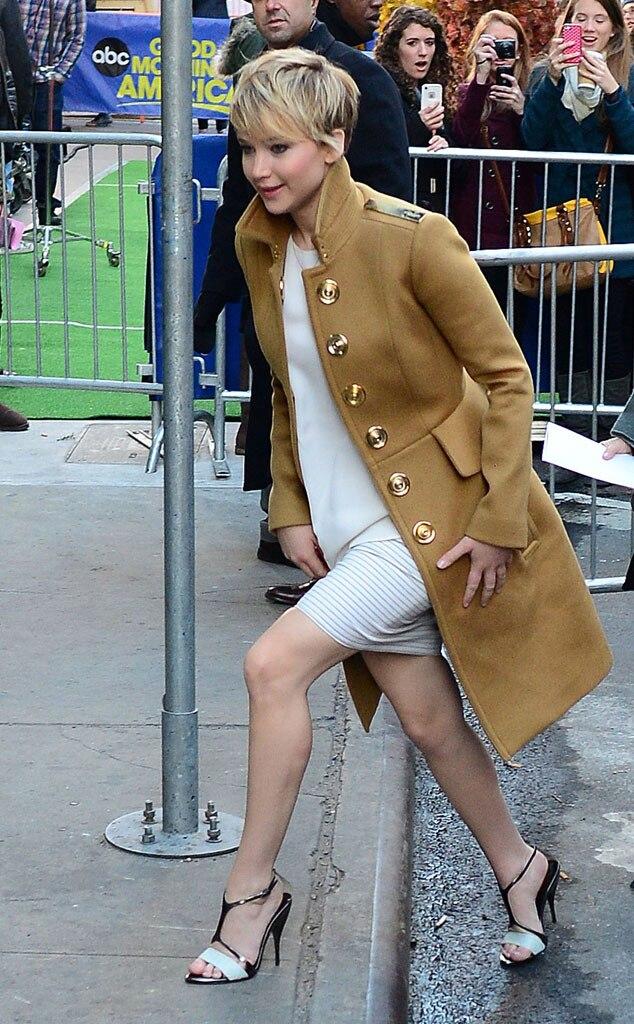 Jennifer Lawrence, Good Morning America, NYC
