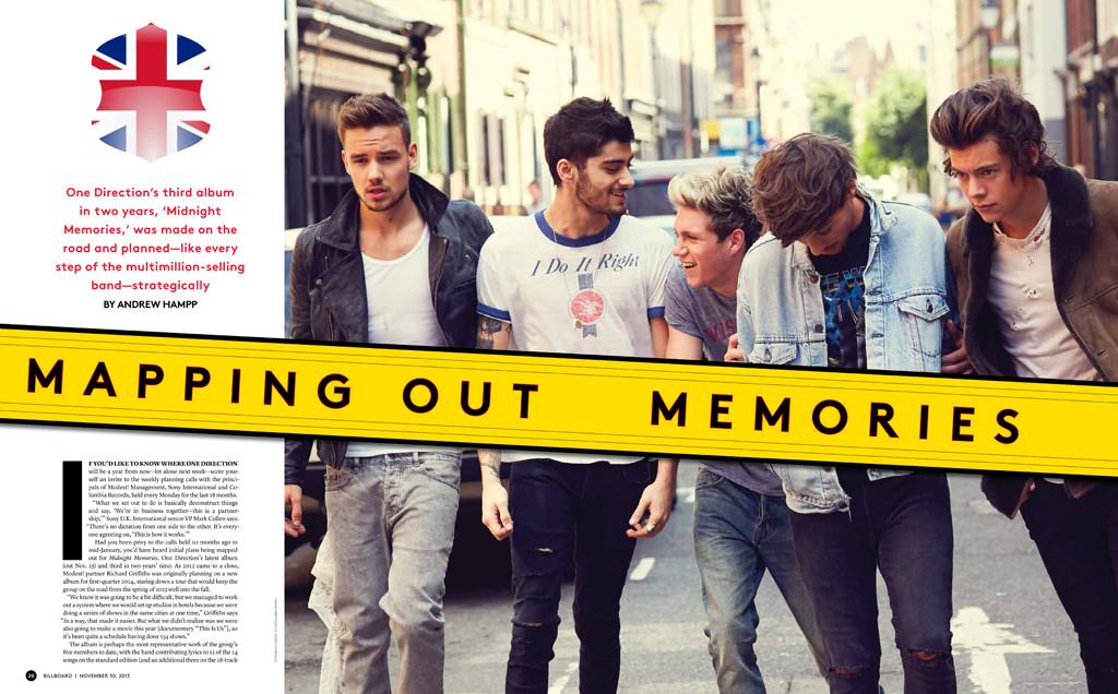 One Direction, Billboard Magazine