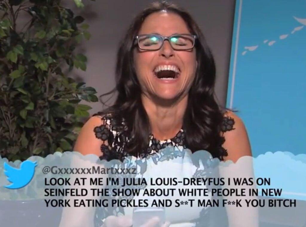 Julia Louis Dreyfus, Mean Tweets, Jimmy Kimmel