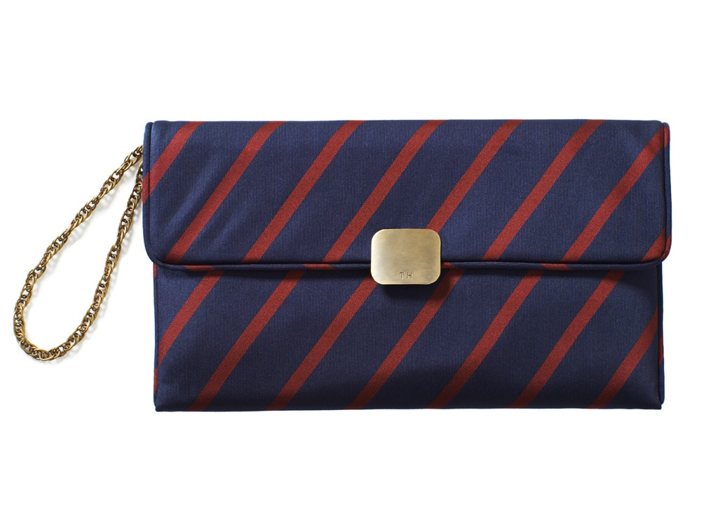 Tommy Hilfiger Stripe Clutch