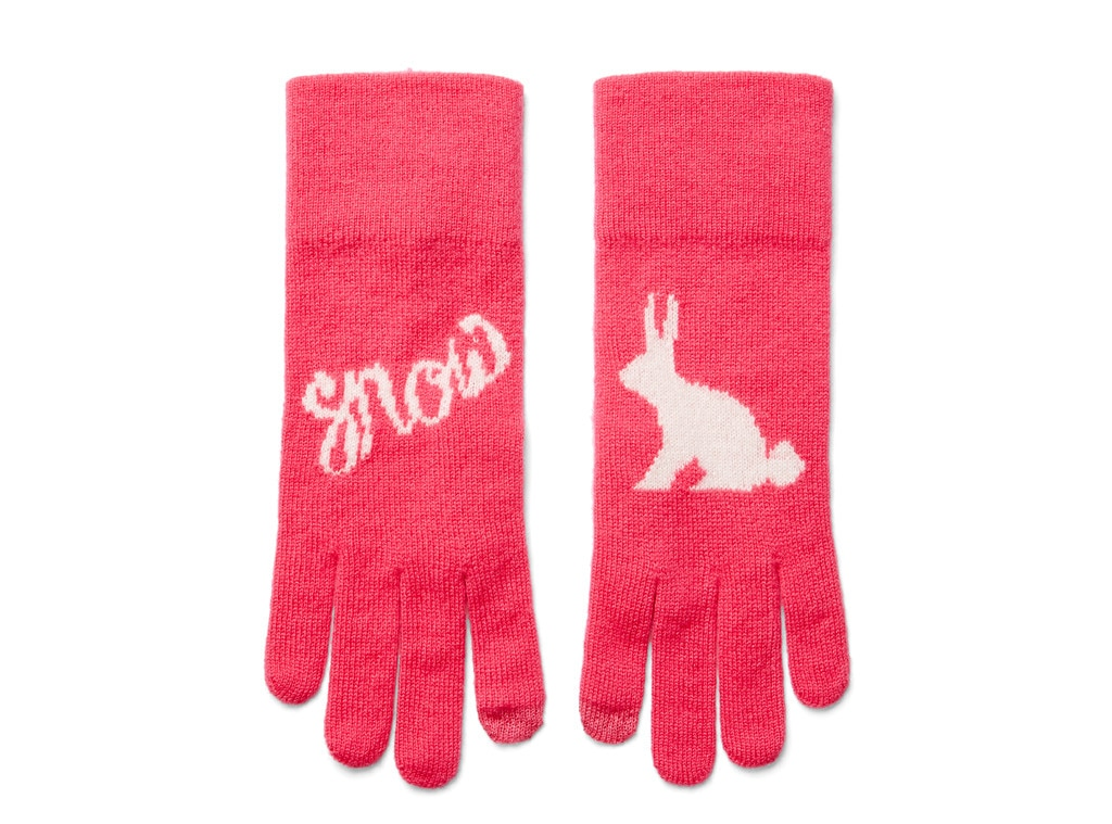 C. Wonder Intarsia iTouch Snow Bunny Gloves