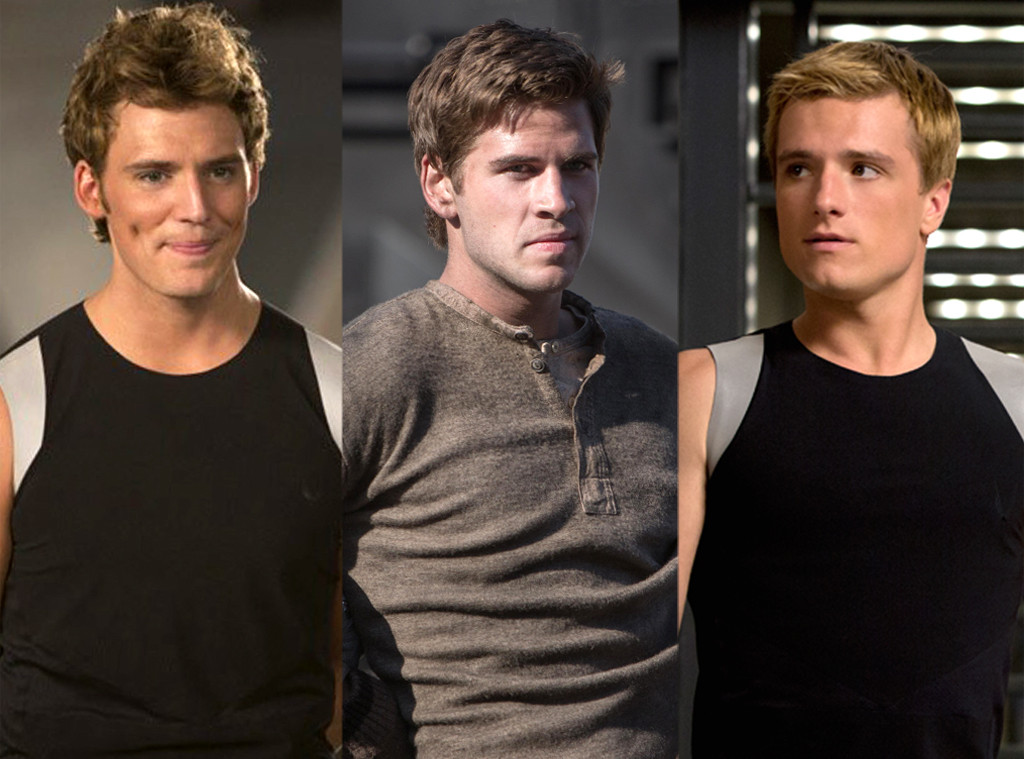 Liam Hemsworth, Josh Hutcherson, Sam Claflin, Hunger Games: Catching Fire