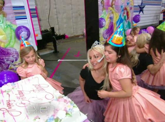 Britney Spears Birthday Ellen