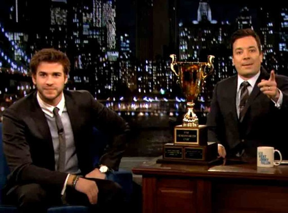 Liam Hemsworth, Jimmy Fallon, NYC