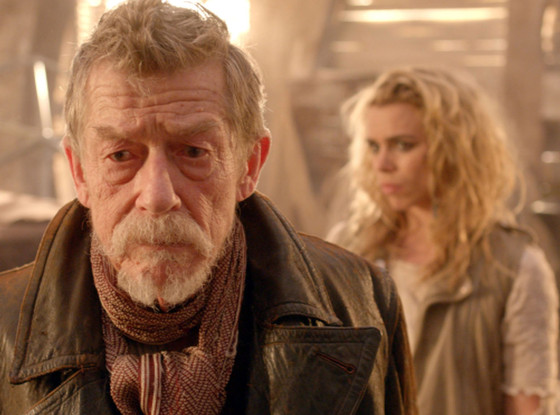John Hurt and Billie Piper, The Day of the Doctor, Doctor Who