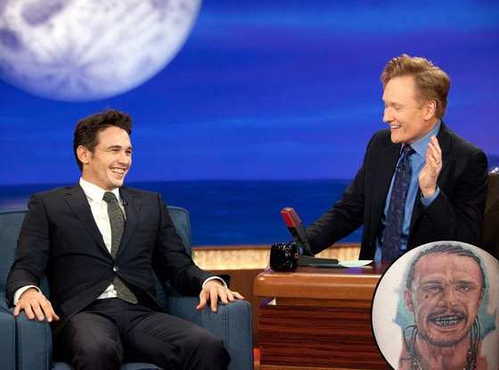 James Franco, Conan O'Brien