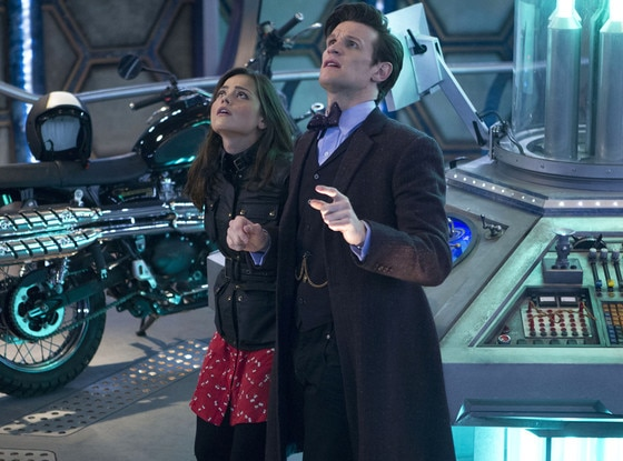 Jenna Louise Coleman, Matt Smith, The Day of the Doctor, Doctor Who