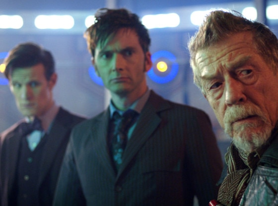 David Tennant, John Hurt, Matt Smith, The Day of the Doctor, Doctor Who