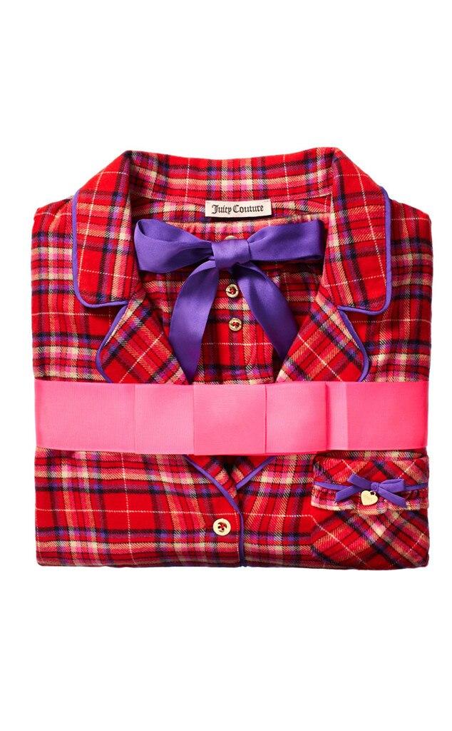 Juicy Couture Flannel PJ Set