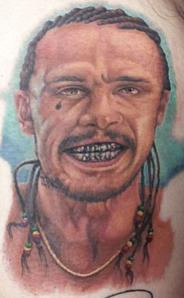 James Franco, Tattoo