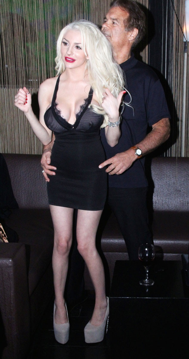 Courtney Stodden, Edward Lozzi, Pop Fashion and Sport Event, Studio City