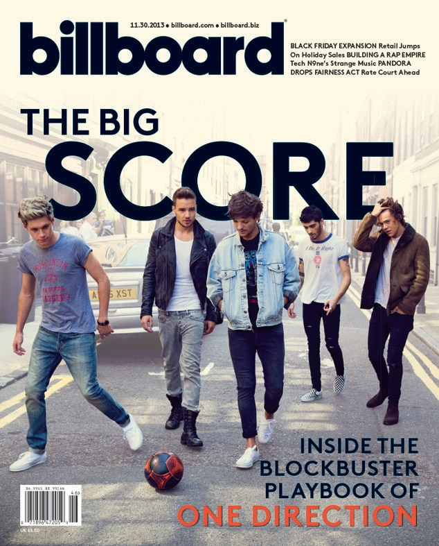 One Direction, Billboard Magazine
