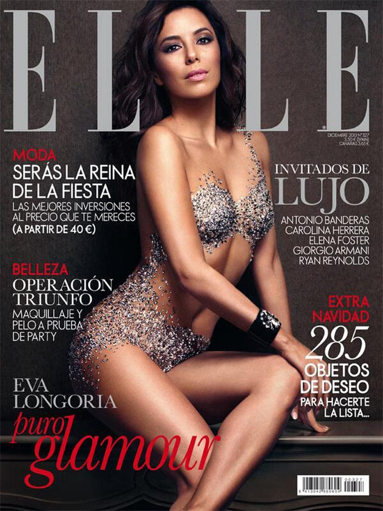 Eva Longoria, Elle Spain, Cover