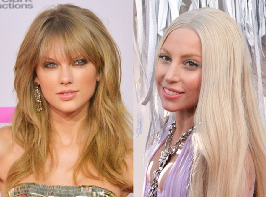 Taylor Swift, Lady Gaga, American Music Awards