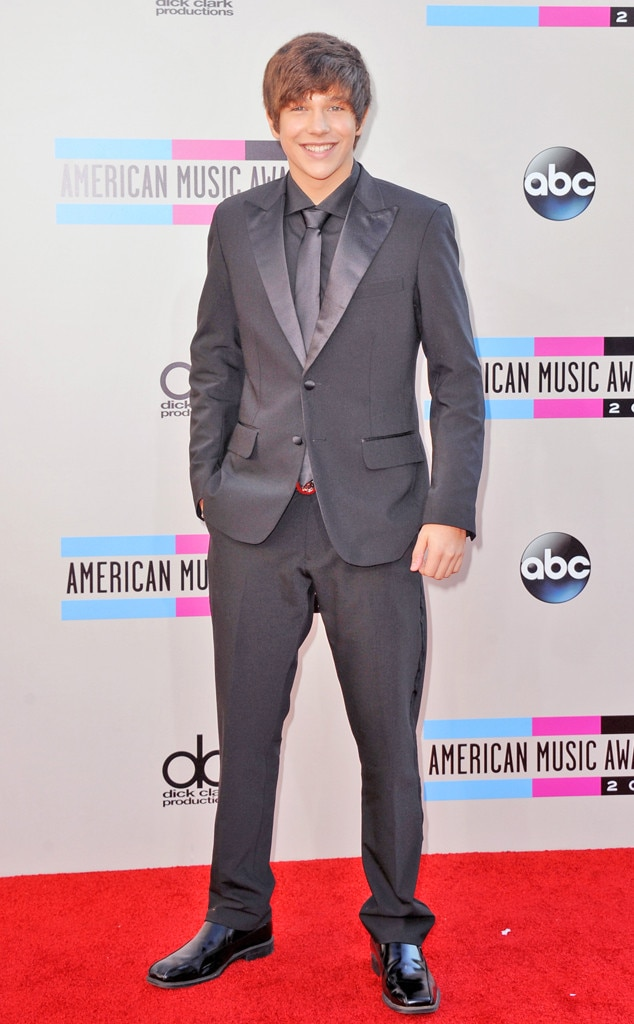 Austin Mahone, 2013 American Music Awards