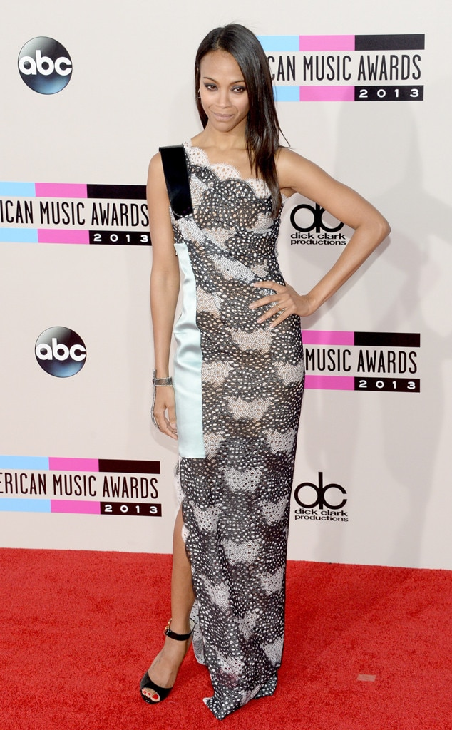 Zoe Saldana, American Music Awards
