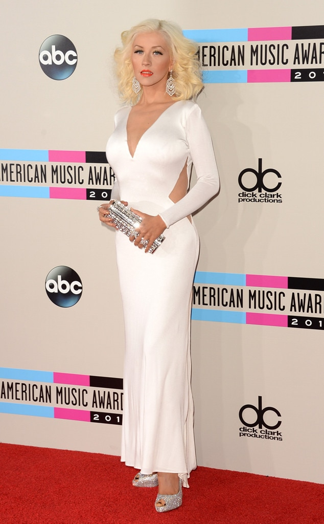 Christina Aguilera, 2013 American Music Awards