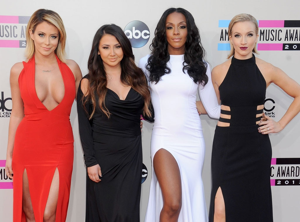 Aubrey O'Day, Aundrea Fimbres, Dawn Richards,Shannon Bex, Danity Kane