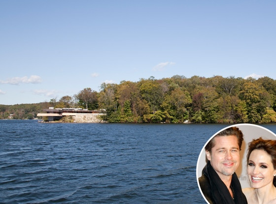 Brad Pitt, Angelina Jolie, Island