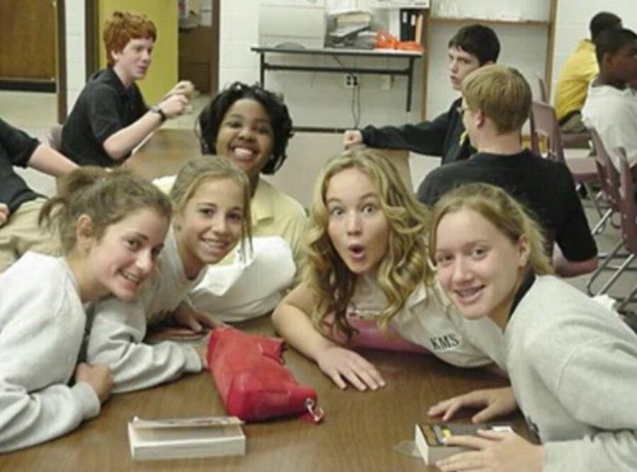 Jennifer Lawrence, Middle School