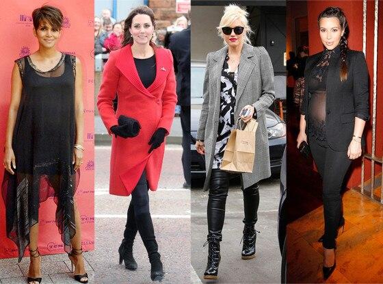 2013 Baby Bumps, Halle Berry, Kate Middleton, Gwen Stefani, Kim Kardashian