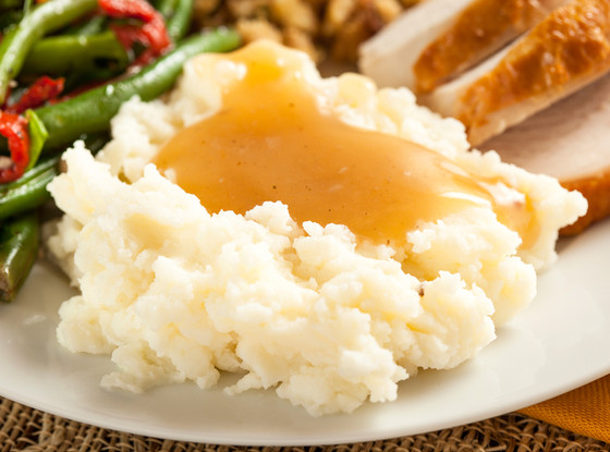 Mashed Potatoes and Gravy, Thanksgiving Sides