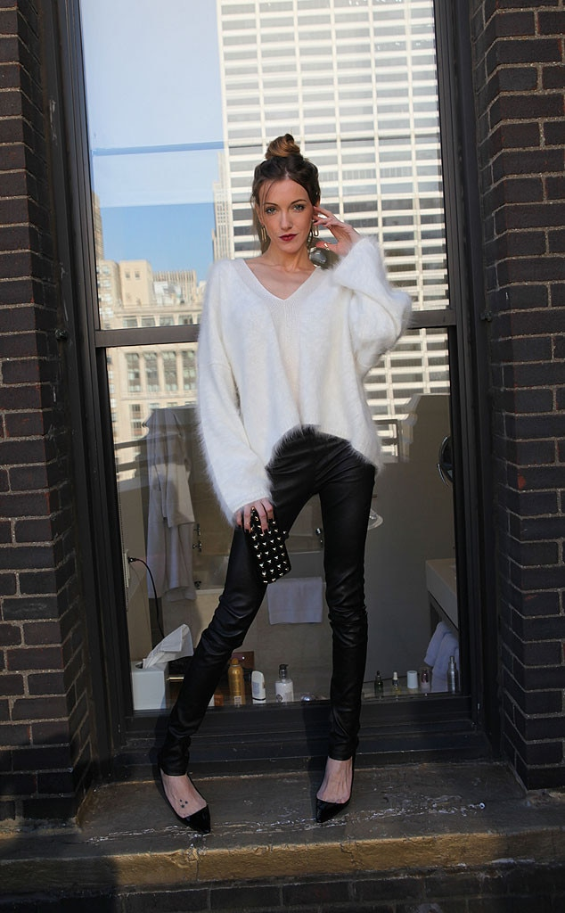 Katie Cassidy, Arrow, CW, Celebrity Hotel Visit