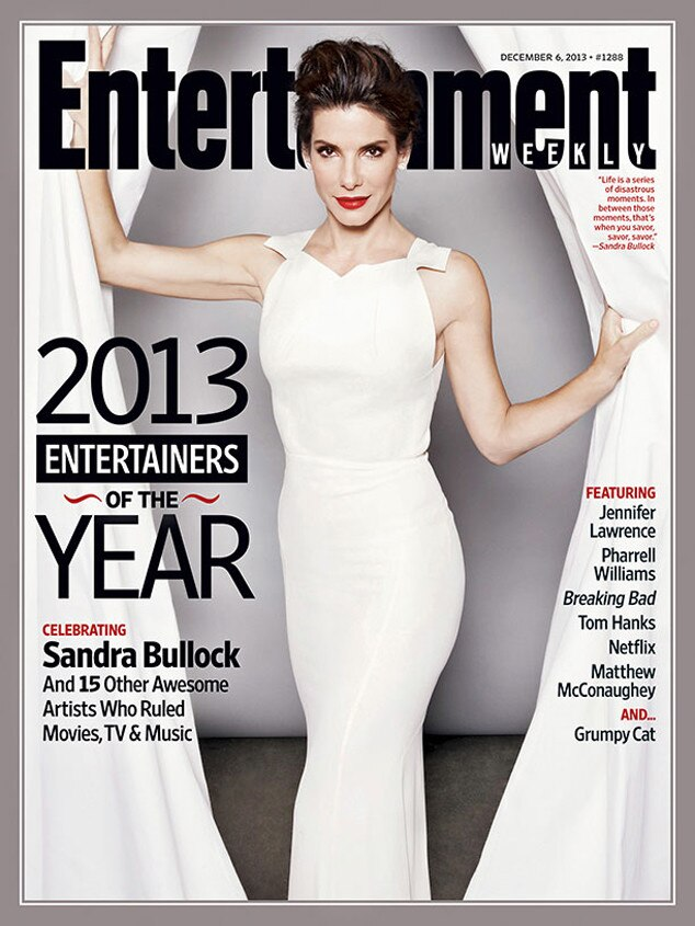Sandra Bullock, Entertainment Weekly, EW, Cover
