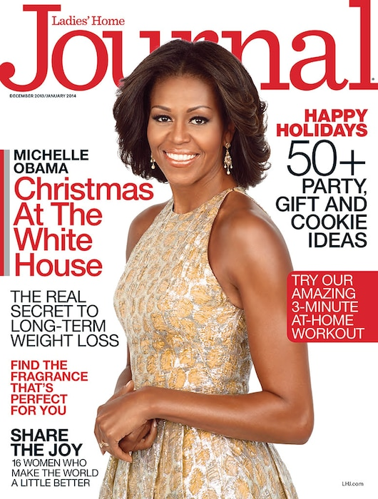 Michelle Obama, Ladie's Home Journal, Cover