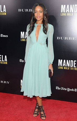 Naomie Harris, Mandela: Long Walk to Freedom, Burberry