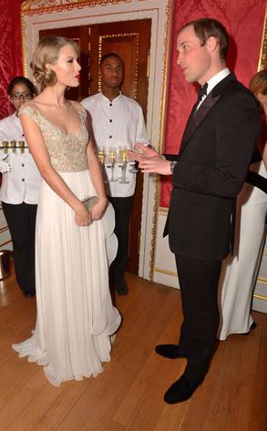 Taylor Swift, Prince William