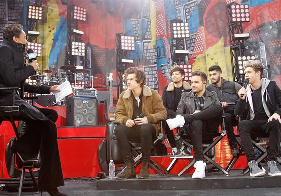 One Direction, Good Morning America, GMA
