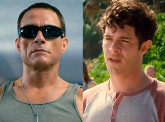 Jean-Claude Van Damme, Adam Brody, Welcome To The Jungle, Trailer