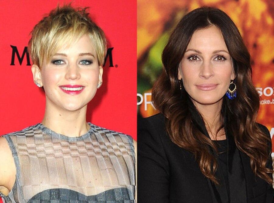 Jennifer Lawrence, Julia Roberts