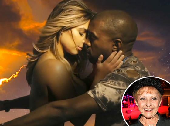 Kim Kardashian, Kanye West, Bound 2, Brenda Lee