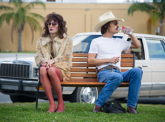 Matthew McConaughey, Jared Leto, The Dallas Buyers Club, Holiday Movie Guide