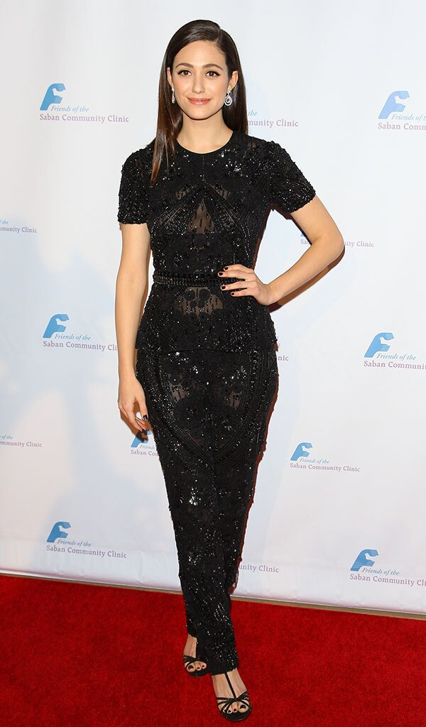 Emmy Rossum, Saban Community Clinic, Beverly Hilton Hotel