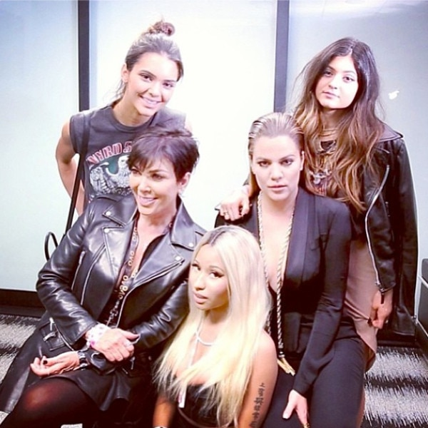 Khloe Kardashian, Kris Jenner, Kendall Jenner, Kylie Jenner, Nicki Minaj