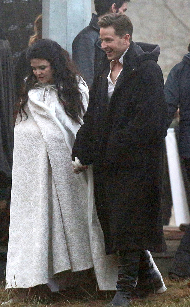 Ginnifer Goodwin, Josh Dallas, Baby Bump, Once Upon A Time